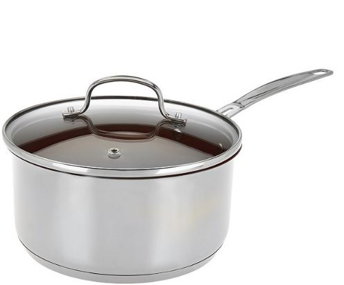 Nuwave 3 Qt Saucepan with Lid IDC-A3-SP3 - NEW