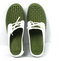 Barbara King Sole Steppers All-Weather Slip On Gardening Shoes Green - NEW