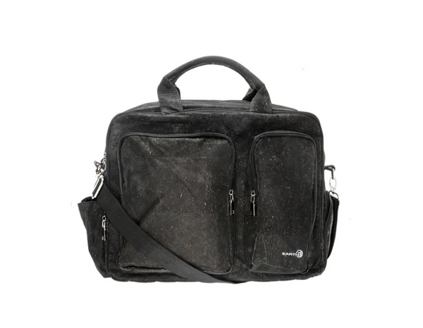 EARTH Braga Travel Bag Black - NEW