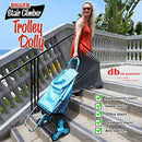 dbest Trolley Dolly XL 2-in-1 Multipurpose Stair Climber Moroccan - NEW