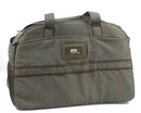 Lug Airbus Weekender Bag Heather Indigo Duffel One Size Walnut - NEW
