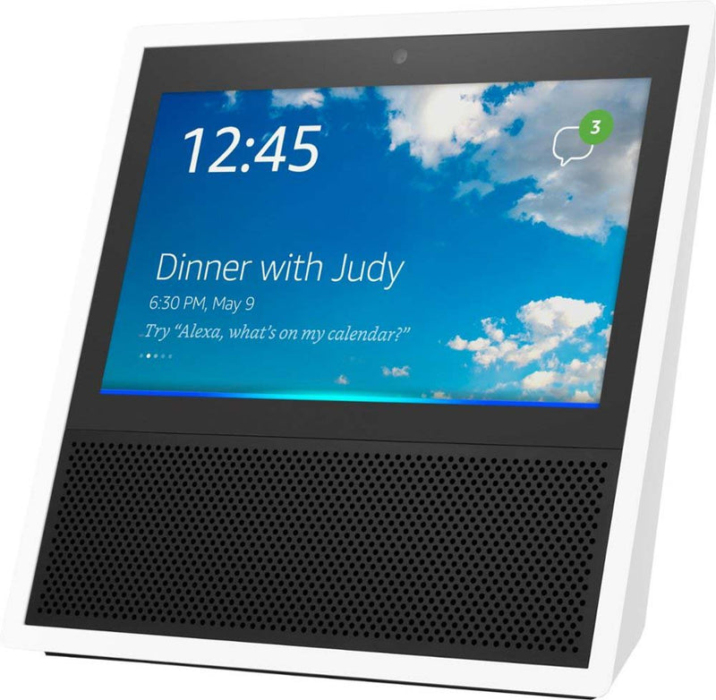 Amazon Echo Show (1st Gen) Smart Speaker with Alexa White - B