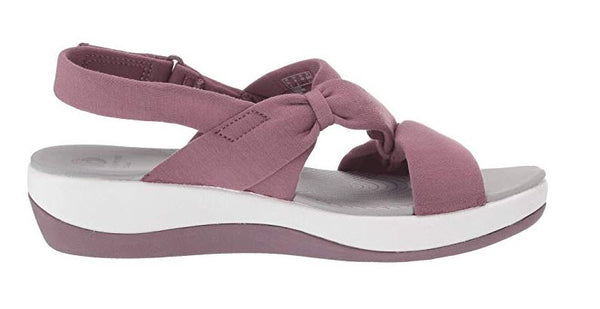 CLOUDSTEPPERS by Clarks Sport Sandals Arla Primrose Lavender - NEW