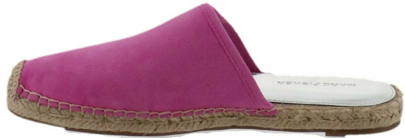 Marc Fisher Suede Espadrille Mules Gift Medium Pink - A