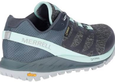 Merrell Mesh Lace-Up Athletic Shoes Antora Turbulence - A