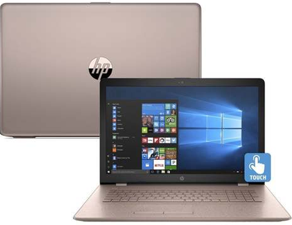 HP 15-BS006CY 15in Touch Laptop i3-7100U 8GB 2TB WIN10 Rose Gold  - A