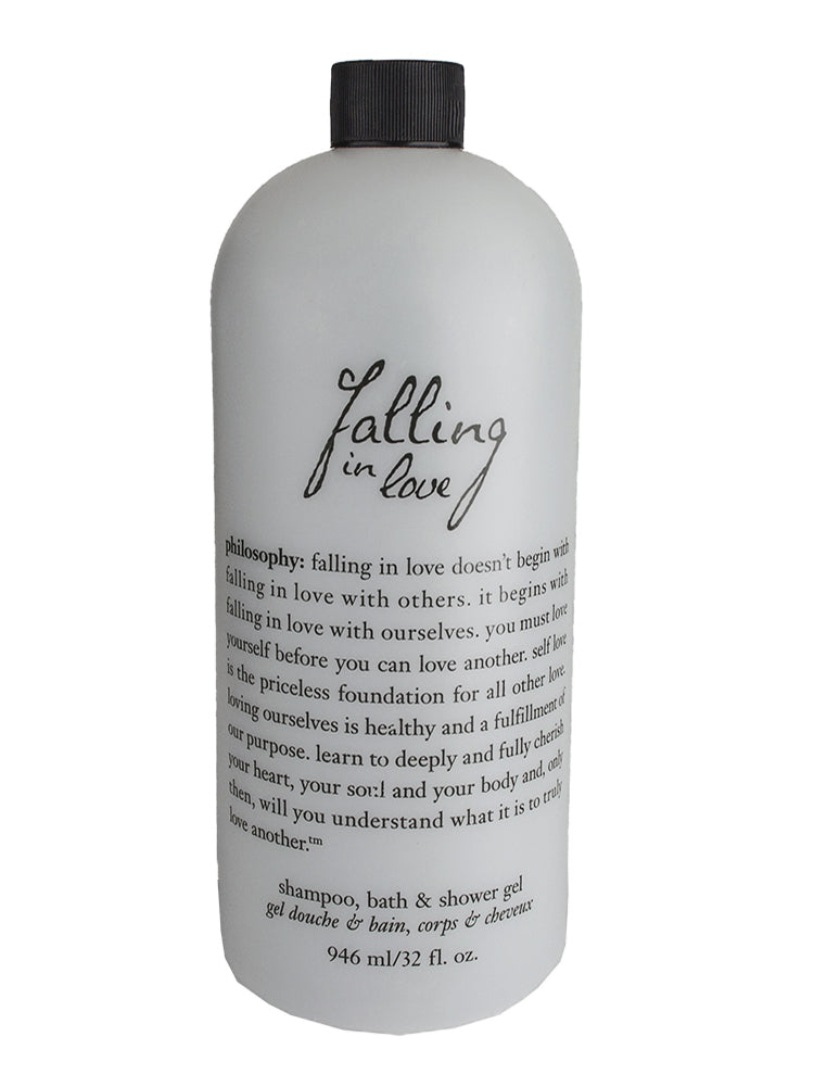 Philosophy Falling in Love Shampoo, Bath and Shower Gel 946ml/32oz. - NEW