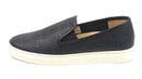 Vince Camuto Leather Slip-On Shoes Becker Black - NEW
