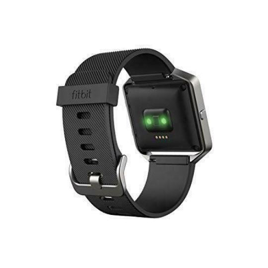 Fitbit Blaze Smart Fitness Tracker with Black Band (FB502SBKS-EU) - C