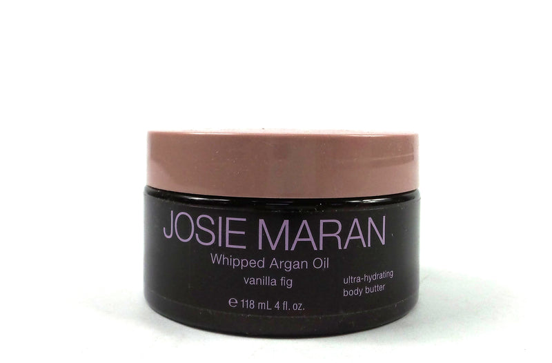 Josie Maran Whipped Argan Oil Vanilla Fig 118ml/4oz - NEW