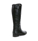 Frye Leather Tall Shaft Boots Melissa Button2 Black - NEW