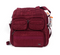LUG Puddle Jumper Walnut Brown Travel Bag NWT Cranberry Red - NEW