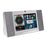 "Azpen A760 7"" Audio Tabletop Tablet Quad Core 8GB RAM & Speakers Silver - A"