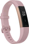 Fitbit Alta HR Activity Tracker + Heart Rate Soft Pink/Rose Gold FB408RGPKS - A