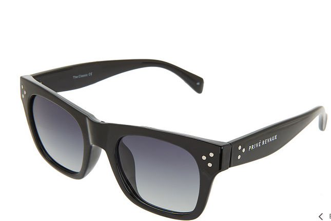 Prive Revaux The Classic Polarized Sunglasses Black - NEW