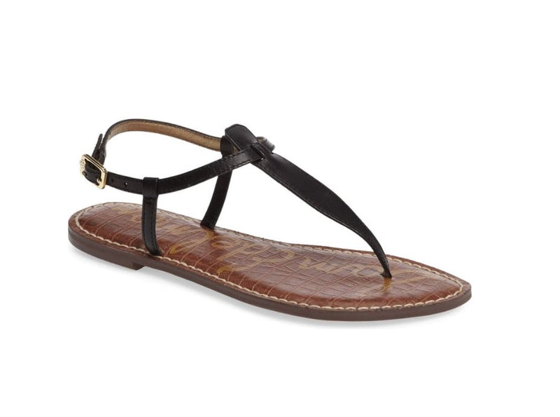 Sam Edelman Women's Gigi Thong Sandal Black - NEW