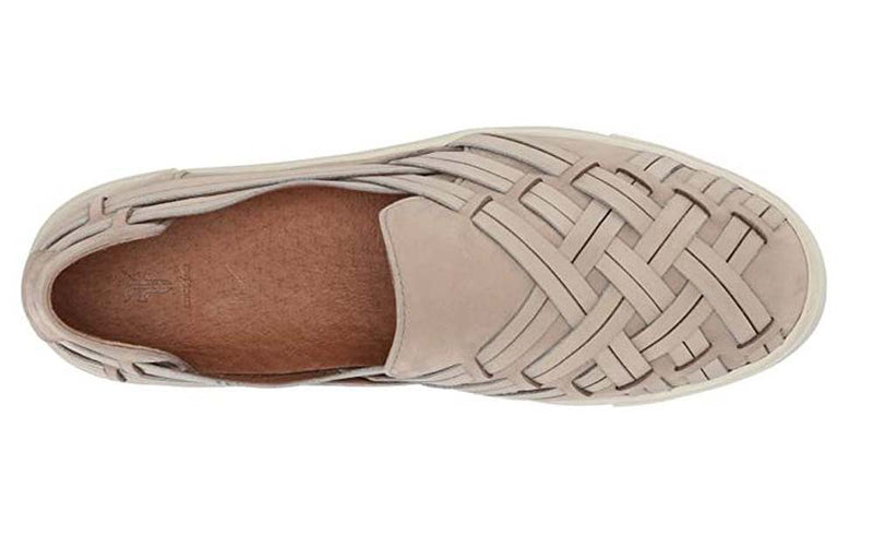 Frye Leather Slip-On Shoes Ivy Huarache Off-White - NEW