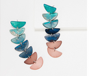 Robert Lee Morris SOHO Ombre Patina Drop Earrings - NEW