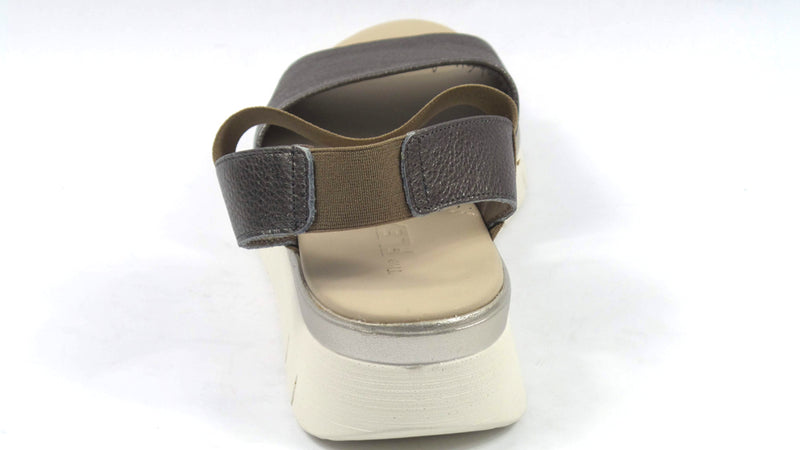 The Flexx Leather Back-Strap Sandals Cushy Pewter - A
