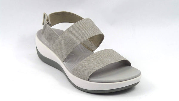 CLOUDSTEPPERS by Clarks Sport Sandals Arla Jacory Sand Heather - NEW
