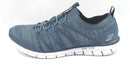 Skechers Stretch-Knit Bungee Slip-On Sneakers Glider Tuneful Navy - NEW