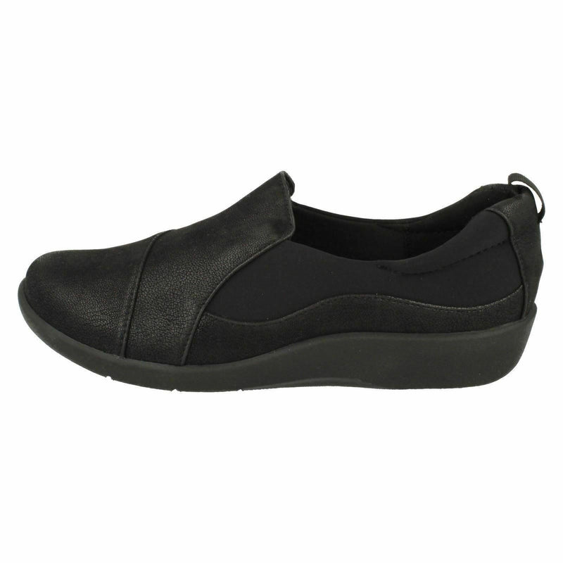 Cloudsteppers Women's Sillian Paz Casual Slip On Shoes Dark Black - NEW