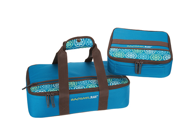 Rachael Ray Insulated Lugger Duo Marine Blue - NEW