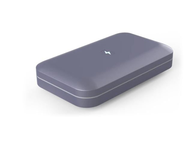 PhoneSoap v.3 UV Smartphone Sanitizer & Universal Charger Periwinkle - A