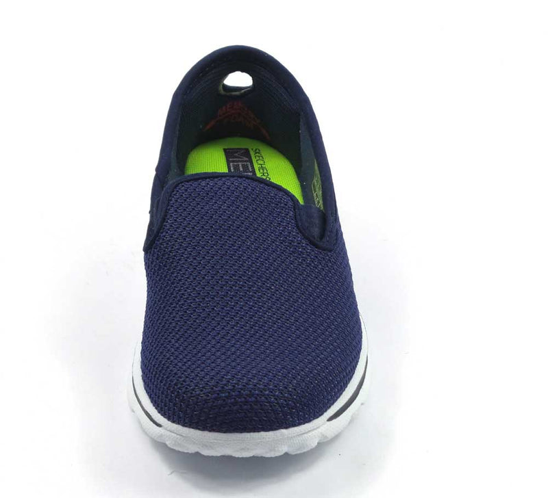 Skechers GOwalk Slip-on Mesh Sneakers Dazzle Navy - NEW