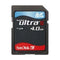 SanDisk Assorted 4GB SD Memory Card SD4GB