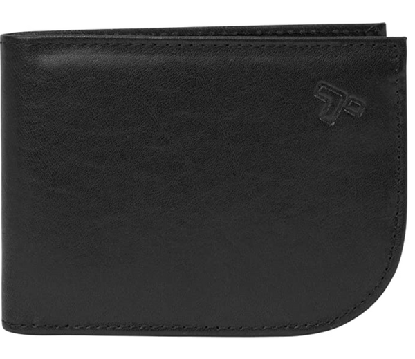 Travelon Safe ID Leather Front Pocket Wallet Black - NEW