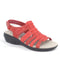 Clarks Collection Alexis Blossom Leather Sandal Red - NEW