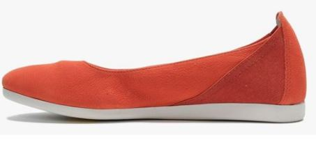 FLY London Leather Slip-on Shoes Yaho Red - A