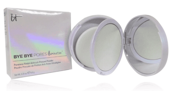 It Cosmetics Bye Bye Pores Pressed Illumination Powder 0.31 oz 9.0 g - NEW