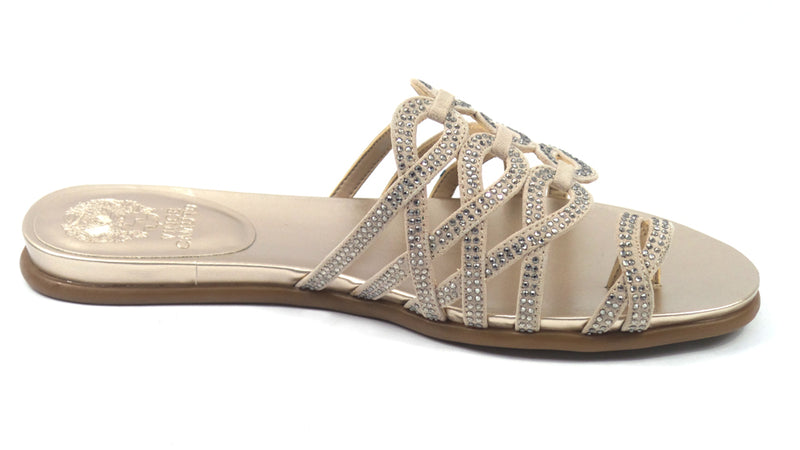 Vince Camuto Embellished Toe-Loop Sandals Emmista Hope - NEW
