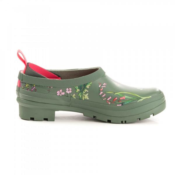 Joules Slip On Welly Clogs - Pop On's Laurel Botanic - NEW