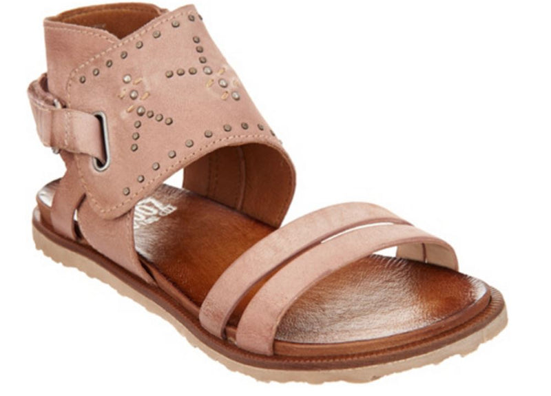 Miz Mooz Leather Sandals with Stud Details Tibby Rose - NEW