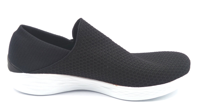 YOU by Skechers Gored Slip-On Sneakers YOU Black - NEW