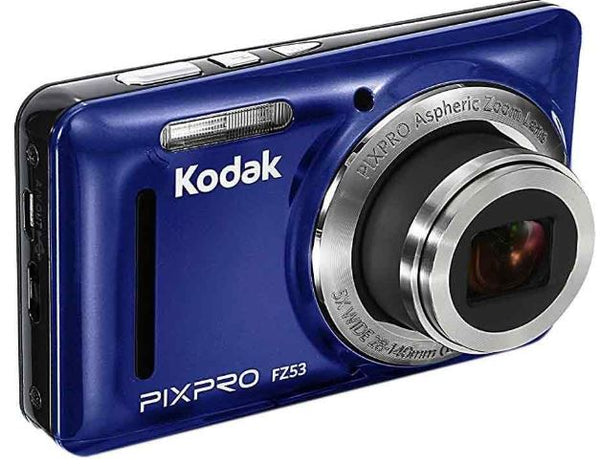 Kodak PIXPRO FZ53 Compact Digital Camera Blue - NEW