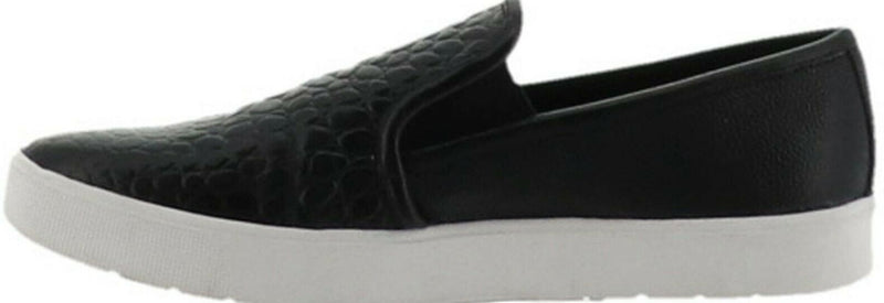LOGO by Lori Goldstein Slip-on Sneakers with Goring Black - NEW