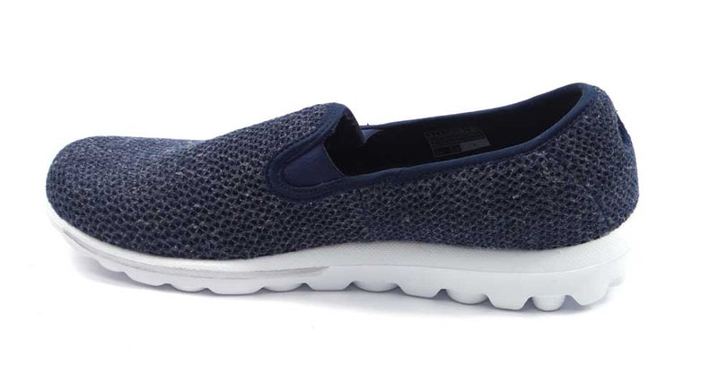 Skechers GOwalk Slip-On Mesh Shoes Dazzle 2 Navy - NEW