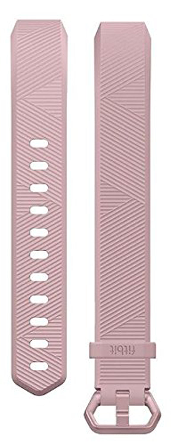 Fitbit Alta HR and Fitbit Alta Wristband Straps Size Large Pink - NEW