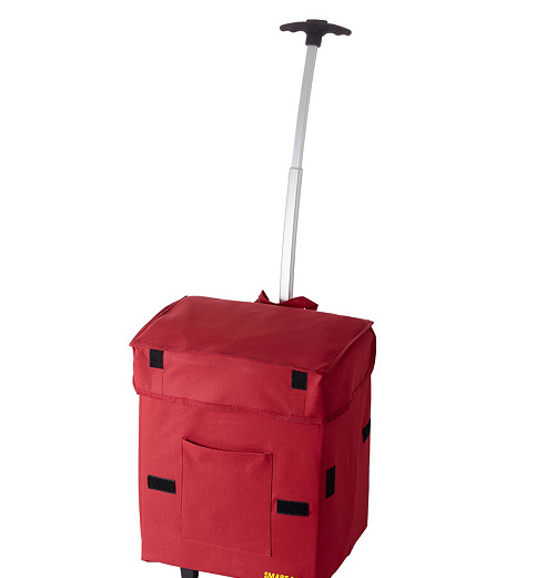 dbest Smart Travel/Luggage Case Grocery Red - NEW