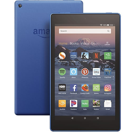 Amazon PR53DC Fire HD8 Tablet 8 Inch 16GB WiFi Blue - A