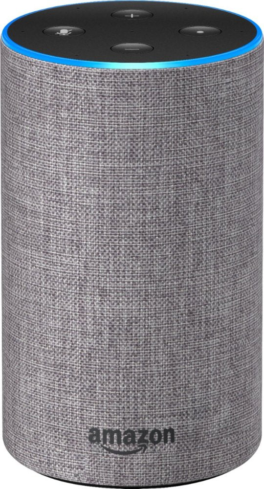 Amazon Echo B0749WVS7J (2nd Generation) Smart Speaker Heather Gray Fabric - A