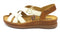 Pikolinos Leather Ankle Strap Sandals Cadaques Nata - NEW