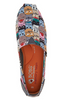 Skechers BOBS Cat Scratch Slip-On Shoes Party Brown Multi - NEW