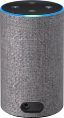 Amazon Echo B0749WVS7J (2nd Generation) Smart Speaker Heather Gray Fabric - B