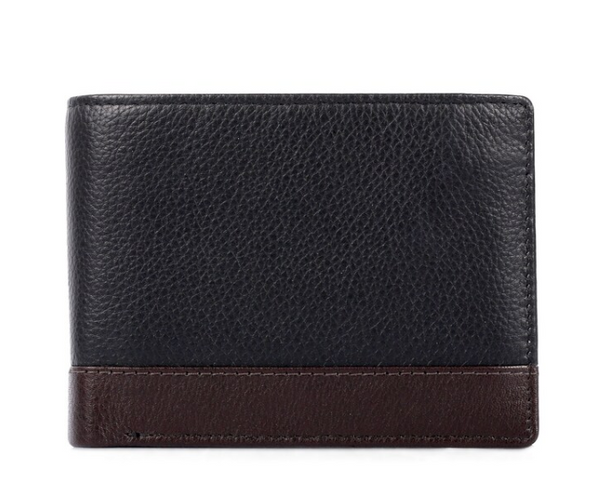 Karla Hanson Leather Men's Wallet Black - NEW