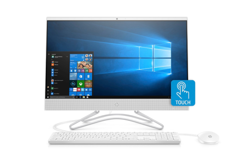 HP 24-F0012CY 24in Touch AMD A9-9425 4GB 1TB WIN10 White - B